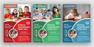 education poster templates educational flyer templates free