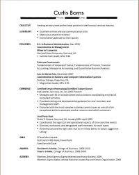 Recent College Graduate Resume 14 Sample Of