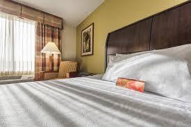 a bed or beds in a room at hilton garden inn arcadia pasadena area
