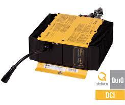 quiq dci battery charger dc dc converter delta q 150 400 ah battery packs