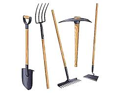 gardening tools names and s
