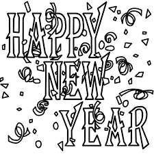 Small Picture Free Printable New Years Coloring Pages For Kids