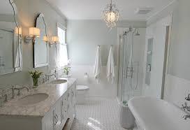 Wonderful Bathroom Ideas. Bathroom Paint Color. Bathroom Paint Color Is Sherwin  Williams Sea Salt.