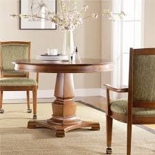 Thomasville Furniture Dining Room Thomasville Furniture Bridges 20 Round Dining Table Opt Chairs