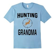 hunting grandma personalized gifts for grandma t shirt