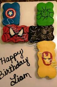 Buttercream Pull Apart Avengers32 Cupcakes Cake Ideas Birth
