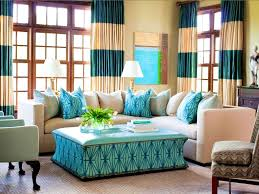 Turquoise Curtains For Living Room Aqua Curtains Living Room Living Room Design Ideas