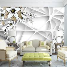 room elegant wallpaper bedroom:  free shipping personalized custom photo wallpaper elegant d magnolia flowers wallpaper restaurant bedroom nursery d wallpaper murals decor wallpaper