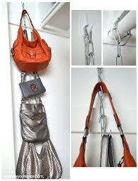 hanging purse organizer organizing purses in closet bag organization for