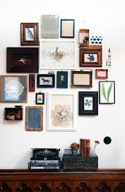 a beautiful collection varied in media  on wall art old picture frames with the perfect gallery wall in five steps diy hurd honey