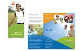 Free Tri Fold Brochure Templates Microsoft Word Interesting Free Church Brochure Templates For Microsoft Word Csoforum