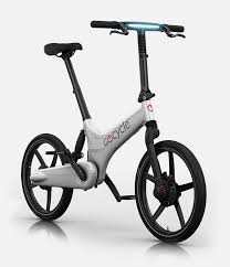 picture of the best electric bicycle in the world the gocycle g3 in blue