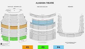 Alabama Theater Birmingham Seating Chart Www
