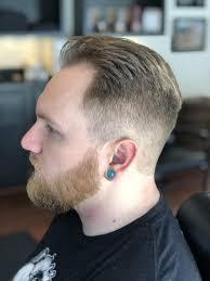Mens Haircut With Beard Trim Fades And Stuff Beard Haircut