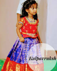 Indian Baby Girl Lehenga Designs Pin By Priyanka Kolla On Kids Fashion Baby Girl Dresses