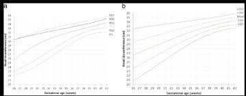 A Smoothened Percentiles For Girls Head Circumference By