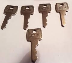 Vending Machine Replacement Keys Interesting LF 48 FIVE PACK OF REPLACEMENT KEYS VENDING MACHINE PUB QUIZ