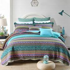 Jacquard Quilts, Bedspreads and Coverlets | eBay & NEWLAKE Striped Jacquard Style Cotton 3-Piece Patchwork Bedspread Quilt  Sets, Adamdwight.com