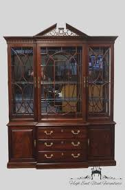 High End China Cabinets High End Used Furniture Thomasville Mahogany Collection 72