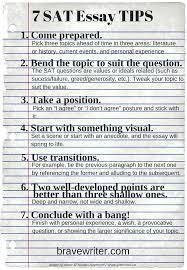 Sat Essay Writing Examples Administrativelawjudge Info