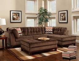 chocolate brown living room furniture. comfortable large sectional sofas furnitures living room elegant brown l shaped tufted sofa with chaise and fabrics sheet for chocolate furniture