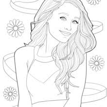 Small Picture Coloring picture of ariana grande coloring pages Hellokidscom