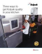 kolpak p7 066 ct walk in cooler 6 x 6 at ckitchen com sizing guide pdf polar pak brochure pdf