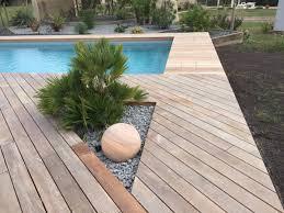 Cr Ation De Terrasse En Bois Exotique M Rignac 33700 Ab Espaces