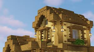 Cool Minecraft Roof Designs Wooden House Roof Design Minecraft