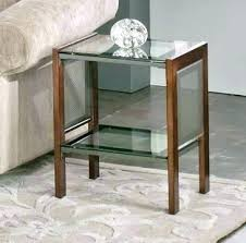 wood and glass end tables table with best of wooden dining designs