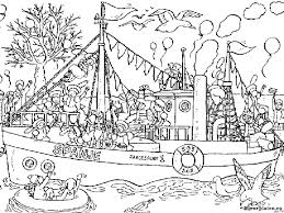 Sinterklaas Stoomboot Kleurplaat 157682 Kleurplaat