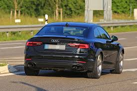 2018 audi rs5. simple rs5 2018 audi rs5 coupe test mule camouflaged as s5 for audi rs5