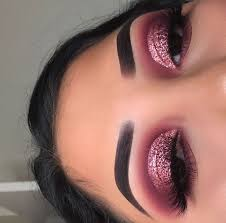 pink toned eyeshadow look valentines makeup inspired makeup artist is marielas xo on insram