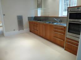 Empty Kitchen Wall Interior Styling Homestaging In Kitchen Of London Property For Sale