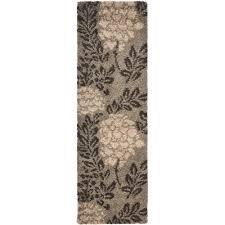 safavieh florida dark brown gray 5 ft x 8 ft area rug sg456 2880 5 the home depot