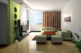 living room minimalist Living Room Wall Colour Modern Decor Ideas