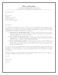 Outstanding Sample Cover Letter For Information Technology Job 33