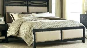 Bed Head And Footboards Bed Frame Tufted Leather Head And Brass Legs ...