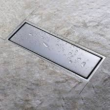 linear shower drain reviews stainless steel shower floor drain with removable cover hanebath linear shower drain