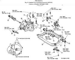mazda transmission removal transmission problem mazda it is not necessary to remove the engine assy but the lower cross member has to be removed remove steering gear and linkages