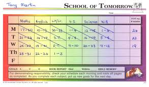 Ace Goal Chart How To Use Goal Cards Home Education Nz