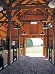 timber frame horse barn something along these lines for my dream barn must have