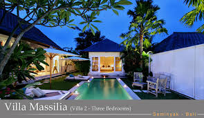 3 Bedroom Villa In Seminyak Interesting Inspiration Design