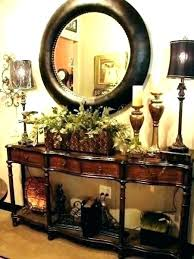round foyer table ideas how to decorate a luxurious and decorating splen