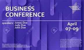 Seminar Design Template Conference Announcement Seminar Design Template Violet Material