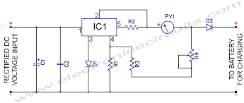 l v constant voltage battery charger circuit electronic l200 12v constant voltage battery charger circuit diagram