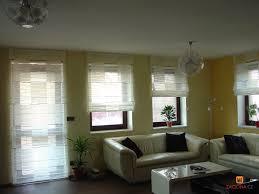 Fenster Vorhang Ideen Für Wohnzimmer Große Plissee Innen Vorhange