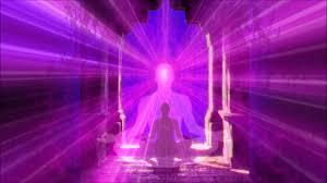 Purple Light In Meditation Sacred Meditation Circle Sacred Light Of Cosmic Awareness