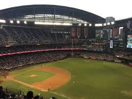Chase Field Section 305 Home Of Arizona Diamondbacks