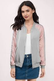 er jackets blush tammy satin er jacket